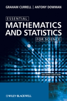 Essential Mathematics and Statistics for Science, Paperback Book
