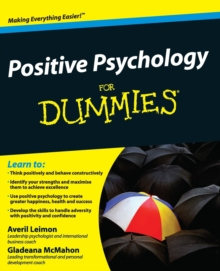 Positive Psychology For Dummies, Paperback Book