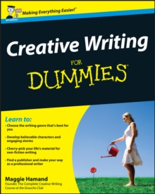 Creative Writing For Dummies, Paperback Book
