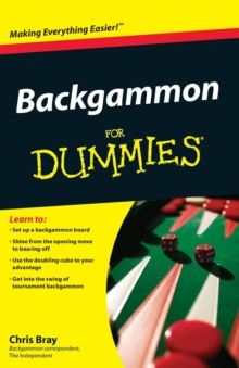 Backgammon For Dummies, Paperback / softback Book