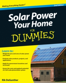 Solar Power Your Home For Dummies, EPUB eBook