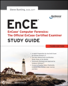 EnCase Computer Forensics - The Official EnCE : EnCase Certified Examiner Study Guide, Paperback Book