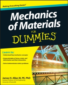 Mechanics of Materials For Dummies, Paperback / softback Book