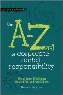 The A to Z of Corporate Social Responsibility, EPUB eBook