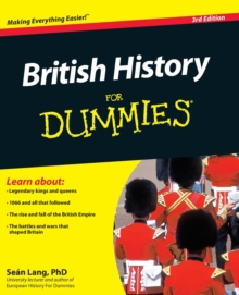 British History For Dummies, Paperback / softback Book