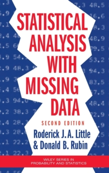 Statistical Analysis with Missing Data, Hardback Book