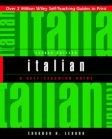 Italian : A Self-Teaching Guide, Paperback Book