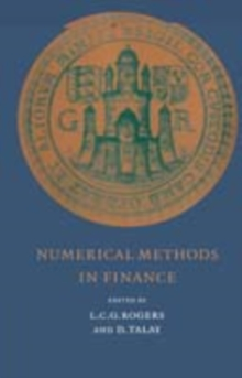 Numerical Methods in Finance : A MATLAB-Based Introduction, PDF eBook
