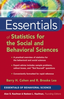 Essentials of Statistics for the Social and Behavioral Sciences, PDF eBook