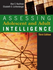 Assessing Adolescent and Adult Intelligence, Hardback Book