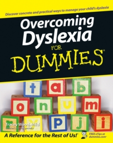 Overcoming Dyslexia For Dummies, Paperback / softback Book