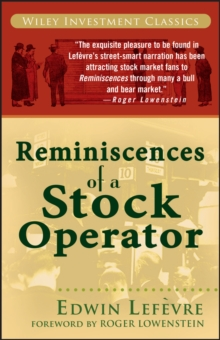 Reminiscences of a Stock Operator, Paperback / softback Book