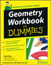 Geometry Workbook For Dummies, Paperback Book