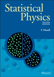 Statistical Physics, Paperback Book