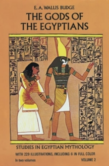 The Gods of the Egyptians, Volume 2, Paperback / softback Book