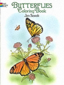 Butterflies Coloring Book, Paperback / softback Book