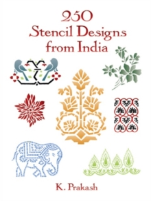 250 Stencil Designs from India, Paperback / softback Book