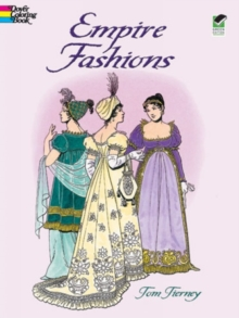 Empire Fashions Colouring Book, Paperback / softback Book