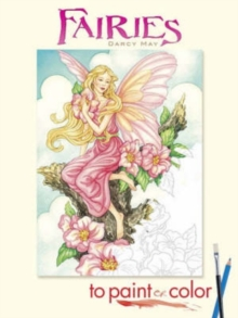 Fairies to Paint or Color, Paperback Book