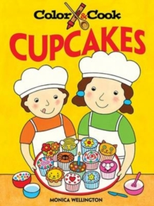 Color and Cook Cupcakes, Paperback Book