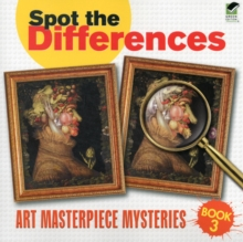 Spot the Differences: Art Masterpiece Mysteries Book 3, Paperback Book