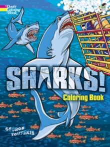 Sharks! Coloring Book, Paperback Book