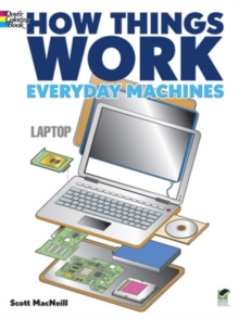 How Things Work - Everyday Machines Coloring Book, Paperback Book