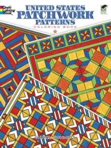 United States Patchwork Patterns Coloring Book, Paperback / softback Book