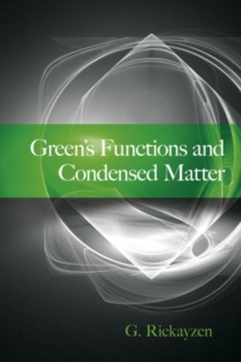 Green's Functions and Condensed Matter, Paperback Book