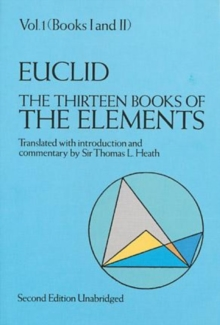 The Thirteen Books of the Elements, Vol. 1, Paperback Book