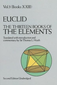 The Thirteen Books of the Elements, Vol. 3, Paperback / softback Book