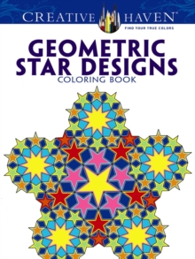 Creative Haven Geometric Star Designs Coloring Book, Paperback / softback Book