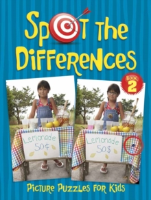 Spot the Differences Picture Puzzles for Kids 2, Paperback Book