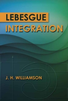 Lebesgue Integration, Paperback Book