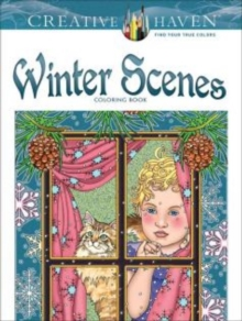 Creative Haven Winter Scenes Coloring Book, Paperback / softback Book