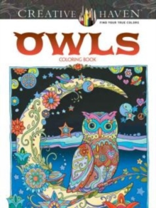 Creative Haven Owls Coloring Book, Paperback Book