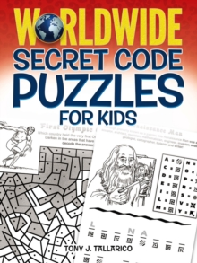 Worldwide Secret Code Puzzles for Kids, Paperback Book