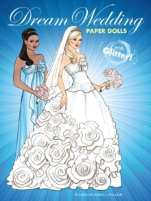 Dream Wedding Paper Dolls with Glitter!, Paperback Book