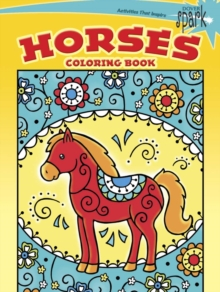 SPARK -- Horses Coloring Book, Paperback Book