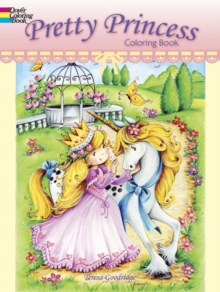 Pretty Princess Coloring Book, Paperback Book