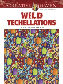 Creative Haven Wild Techellations Coloring Book, Paperback Book