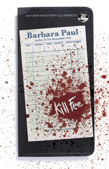 Kill Fee, Paperback Book