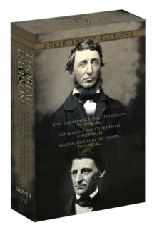 Thoreau and Emerson Boxed Set : Classic Works, Paperback Book