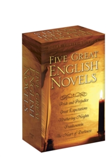 Five Great English Novels Boxed Set, Paperback / softback Book