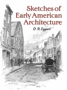 Sketches of Early American Architecture, Paperback Book