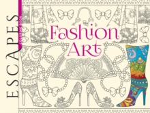 ESCAPES Fashion Art Coloring Book, Paperback Book