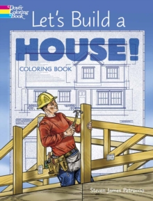 Let's Build a House! Coloring Book, Paperback Book