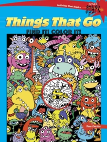 SPARK Things That Go Find It! Color it!, Paperback Book