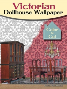 Victorian Dollhouse : Color & Cut, Paperback Book