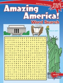 SPARK Amazing America! Word Search, Paperback Book